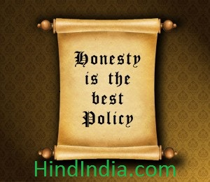 honesty is the best policy story in hindi